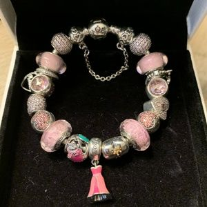 Pandora Aurora Bracelet with Charms
